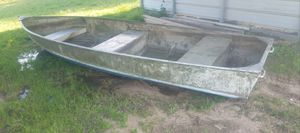 Aluminum boat for Sale in Coffee City, TX