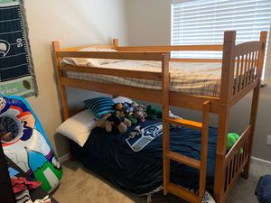 Twin size bunk bed for Sale in Federal Way, WA