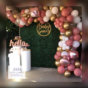 Balloon Garlands, Backdrops, Candy Table for Sale in Pomona, CA