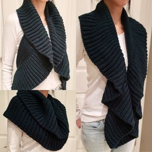 New $10 each or 2 or more is $8 each Ruffle convertible loop scarf vest in black grey or teal green color for Sale in Los Angeles, CA