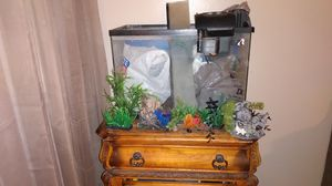 Fish aquarium w/ filters &etc. for Sale in Banning, CA