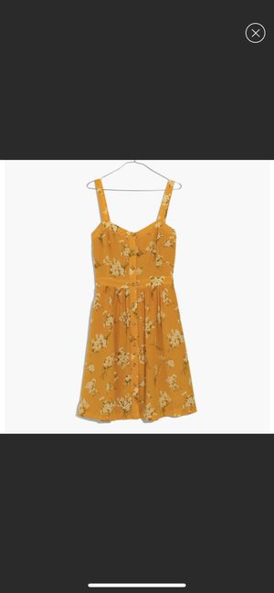 Madewell yellow floral dress for Sale in Long Beach, CA