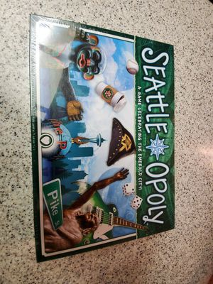 SEATTLE OPOLY for Sale in Lakewood, WA