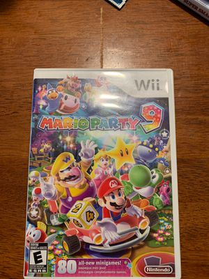 Wii Mario party 9 for Sale in Linthicum Heights, MD