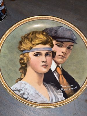 Norman Rockwell Plate for Sale in Huntington Beach, CA