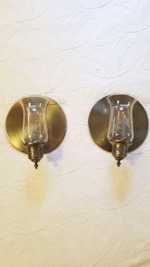 Wall Sconce, Candle holder set for Sale in Mechanicsburg, PA