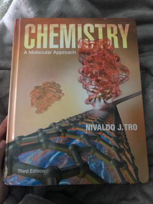 CHEMISTRY A MOLECULAR APPROACH 3rd edition for Sale in Portland, OR