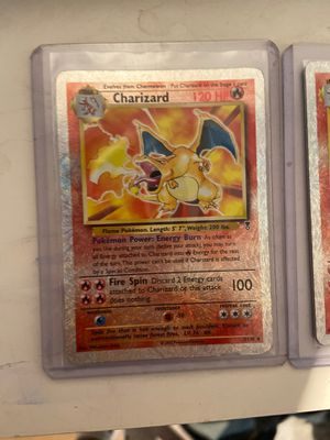 Charizard legendary collection reverse holo rare pokemon card for Sale in Lynwood, CA