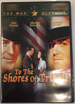 DVD, To The Shores of Tripoli for Sale in Virginia Beach, VA