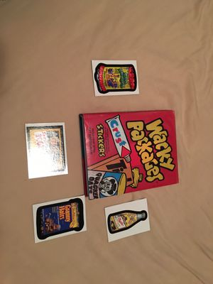 Wacky Packages stickers book 2008 edition for Sale in Eleva, WI