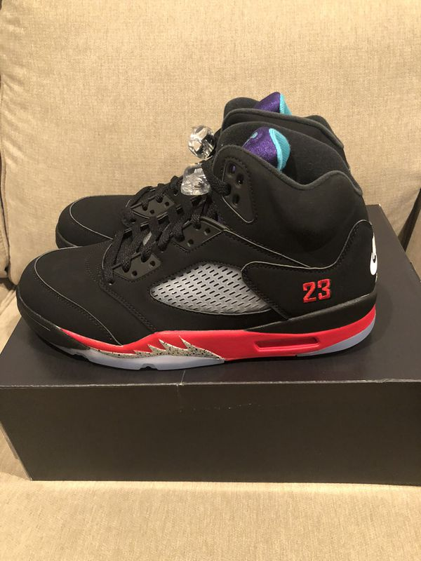 Jordan 5 'Top 3' - Sizes available: 8.5, 9, 10