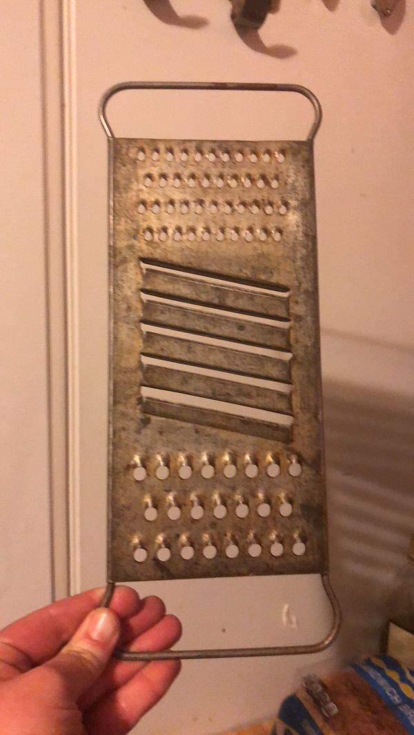 Vintage metal Rustic Kitchen cheese grater