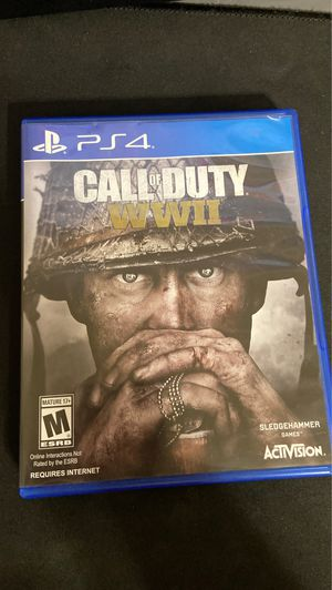 Call of duty WWII with season pass for Sale in Phoenix, AZ