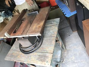 Old table saw for Sale in Virginia Beach, VA