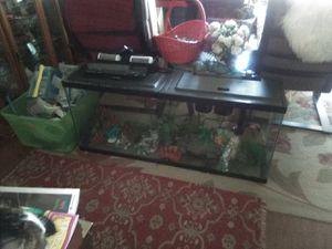 55 gal. Glass Aquarium w/ Everything for Sale in San Dimas, CA