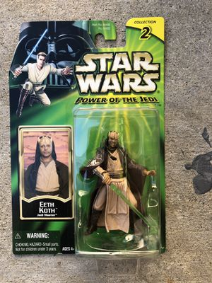 Star Wars Eeth Koth Power of the Jedi collection 2 Action Figure for Sale in Los Angeles, CA