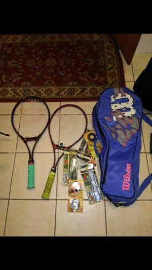 2 Wilson pro tennis racket including sports bag for Sale in Denver, CO
