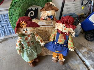 Scarecrows and hay for Sale in Mesa, AZ