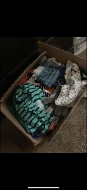 Box of baby boy clothes for Sale in Virginia Beach, VA
