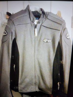 Joe Rocket Gray Padded Motorcycle Jacket for Sale in Chandler, AZ