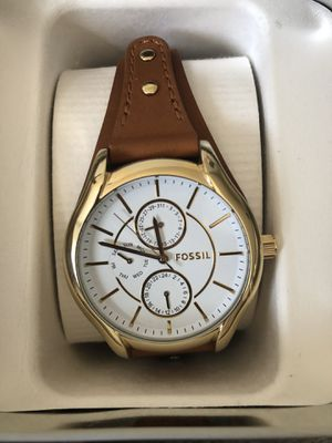 Fossil watch brown color for women pick up for $60 for Sale in Chula Vista, CA