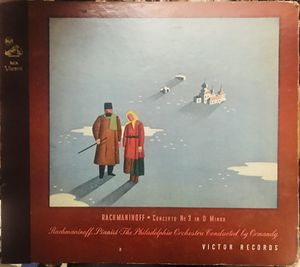 Rachmaninoff concerto no 3 on d minor op 30 RCA Victor 5 record set. for Sale in Roseville, CA