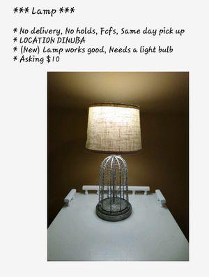 Lamp for Sale in Dinuba, CA