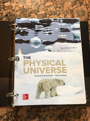 Physical Universe 17 seventeenth edition PHSC book for Sale in Weeki Wachee, FL