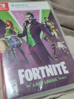 Nintendo Switch Fortnite The Last Laugh Bundle for Sale in Garden Grove,  CA