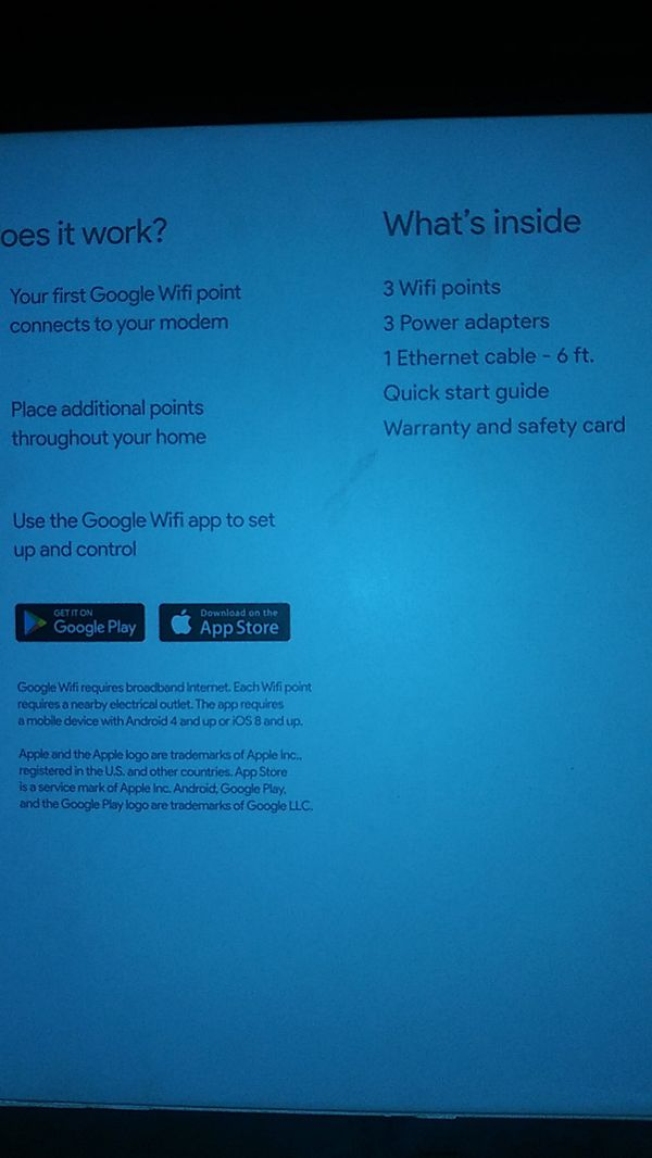 Google wifi for Sale in Oakland, CA - OfferUp