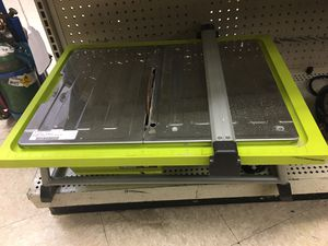RYOBI table tile saw WS722 for Sale in Austin, TX