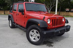 2008 Jeep Wrangler 4x4 4 doors clean title financió sin crédito sin licencia sin trabajo for Sale in West Park, FL