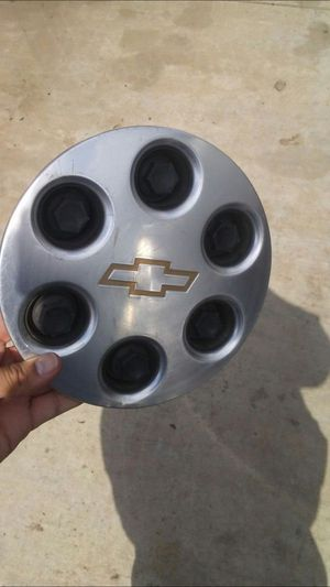 Chevy Stcock Rims Center Caps Only for Sale in Bakersfield, CA