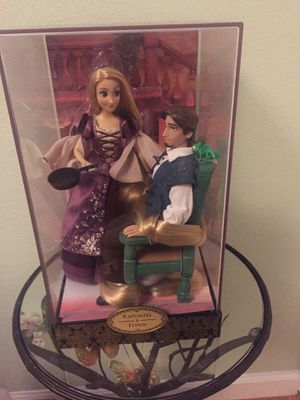 Disney designer Rapunzel and Flynn dolls for Sale in South San Francisco, CA
