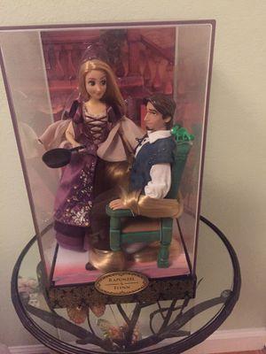 Disney designer Rapunzel and Flynn dolls for Sale in South San Francisco, CA