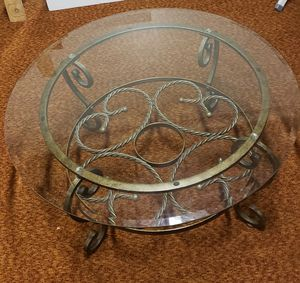 Beautiful Glass Center Table for Sale in Renton, WA