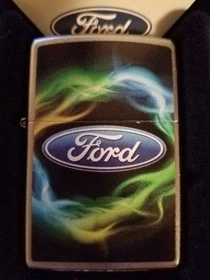 Zippo Ford script in oval logo street chrome 29752 for Sale in Los Angeles, CA