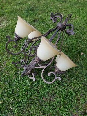 6 light chandelier for Sale in Glen Allen, VA