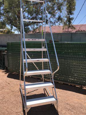 Aluminum Rolling ladder for Sale in Las Vegas, NV
