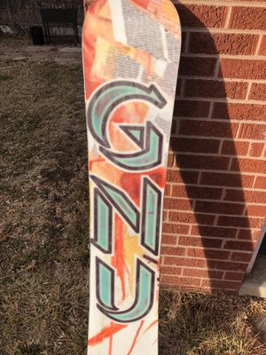 GNU 149cm Gateway Rocker Snowboard for Sale in Denver, CO