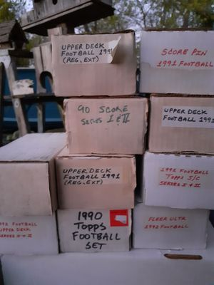Baseball and football cards for Sale in San Antonio, TX