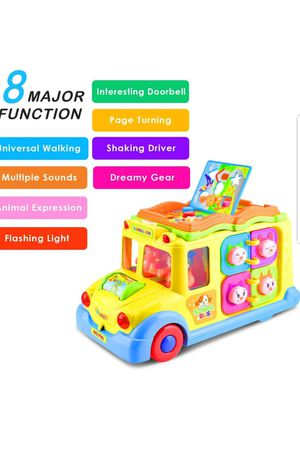 KATUMO Intellectual Musical School Bus Toy, Learning Educational Toys for Baby & Toddles NEW. OPENED. for Sale in Silver Spring, MD