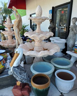 Concrete Water Fountain for Sale in Coconut Creek, FL