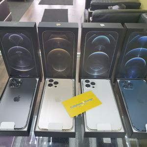 IPHONE 12 PRO MAX 128GB FACTORY UNLOCKED BRANDNEW for Sale in Garland, TX