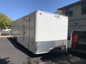 2016 Look Enclosed Trailer 24ft for Sale in Phoenix, AZ