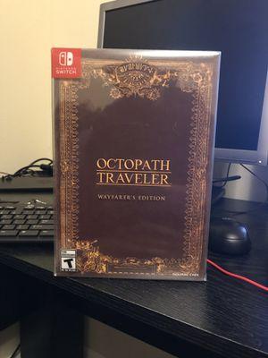 Octopath Traveler Wayfarer's Edition Nintendo Switch for Sale in Tampa, FL