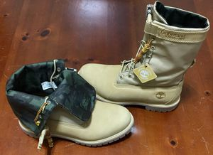 """💯 AUTHENTIC TIMBERLAND 6"""" GAITER DESERT STORM CAMO WATERPROOF CLASSICS BOOTS SIZE 9.5 BRAND NEW Supreme Deal!!!!! $120 DS for Sale in Raleigh, NC"""
