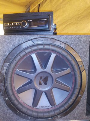 Subwoofer/Stereo for Sale in Fort Worth, TX