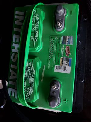 New battery for motorhome or travel trailer for Sale in Sacramento, CA