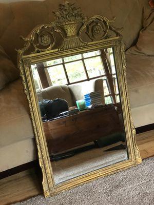 Gilt Frame Mirror for Sale in Roseville, CA